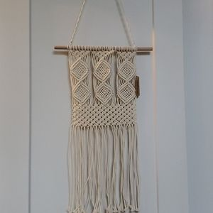 SOLD -Brand new wall macrame
